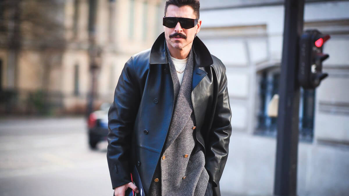 On trend this year for 2020 Men's Fashions and Happenings at Paris fashion week